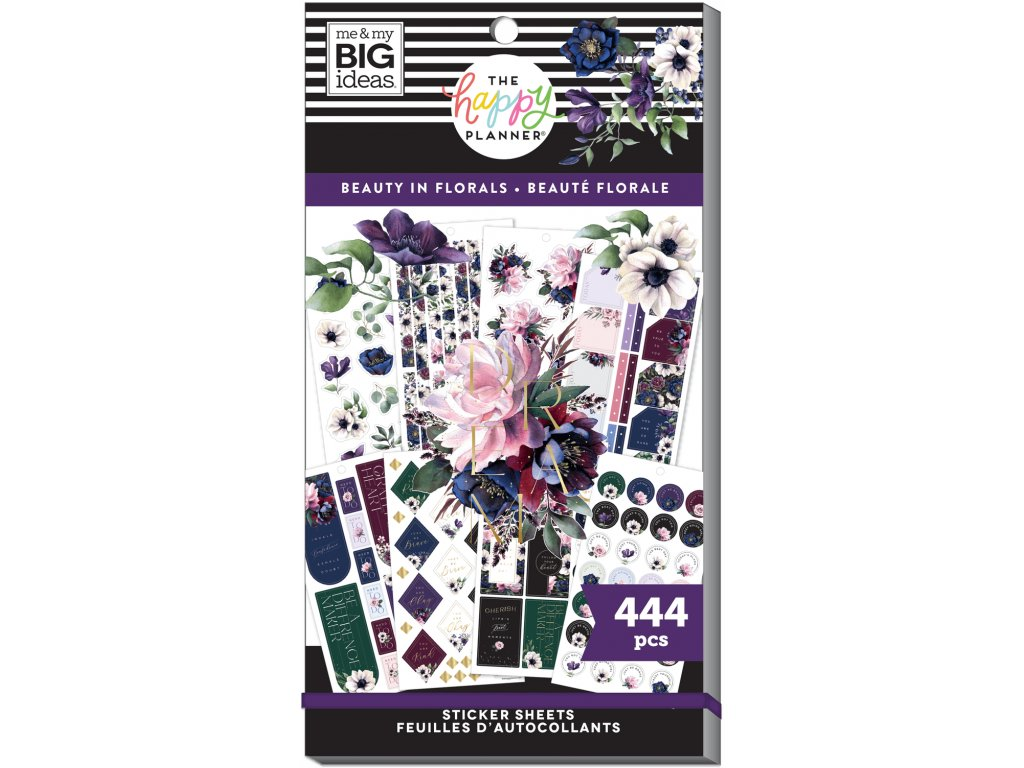 Samolepky Happy Planner Value Pack Beauty In Florals