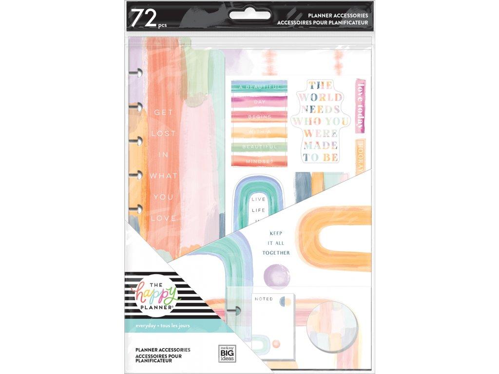 Rozšíření do diáře Happy Planner CLASSIC Painterly Pastels