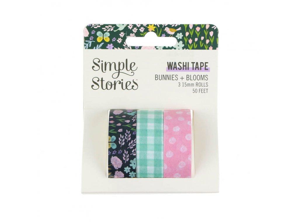 Washi pásky Simple Stories Bunnies & Blooms