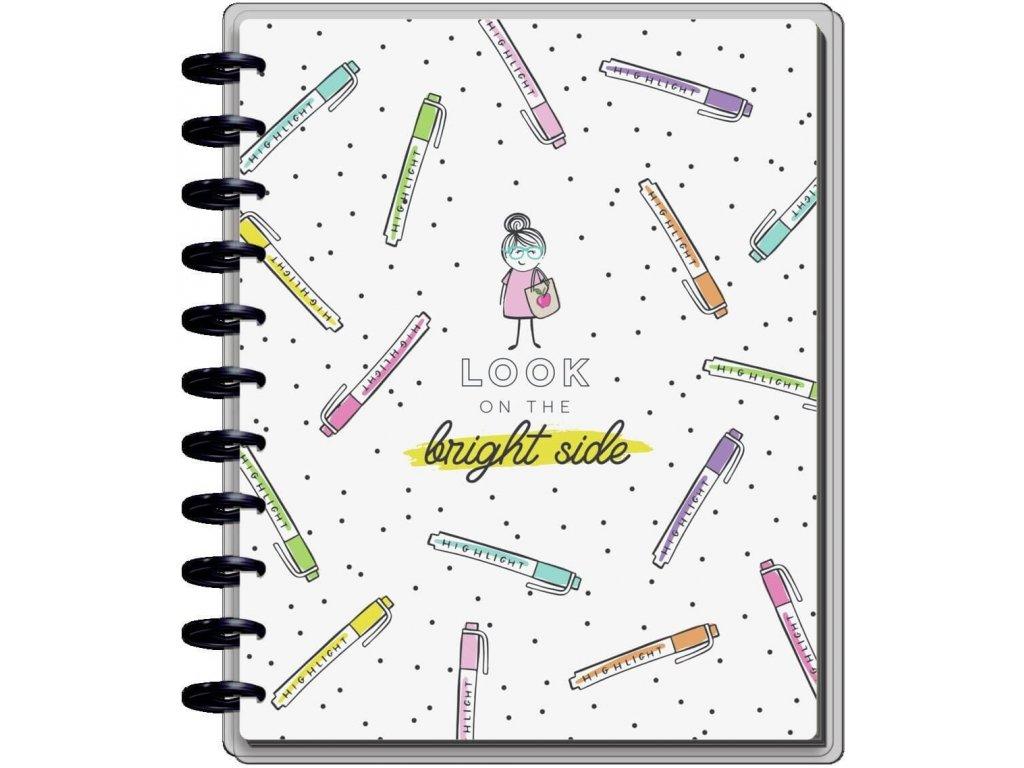 Učitelský diář 2021 2022 Happy Planner BIG Stick Girl