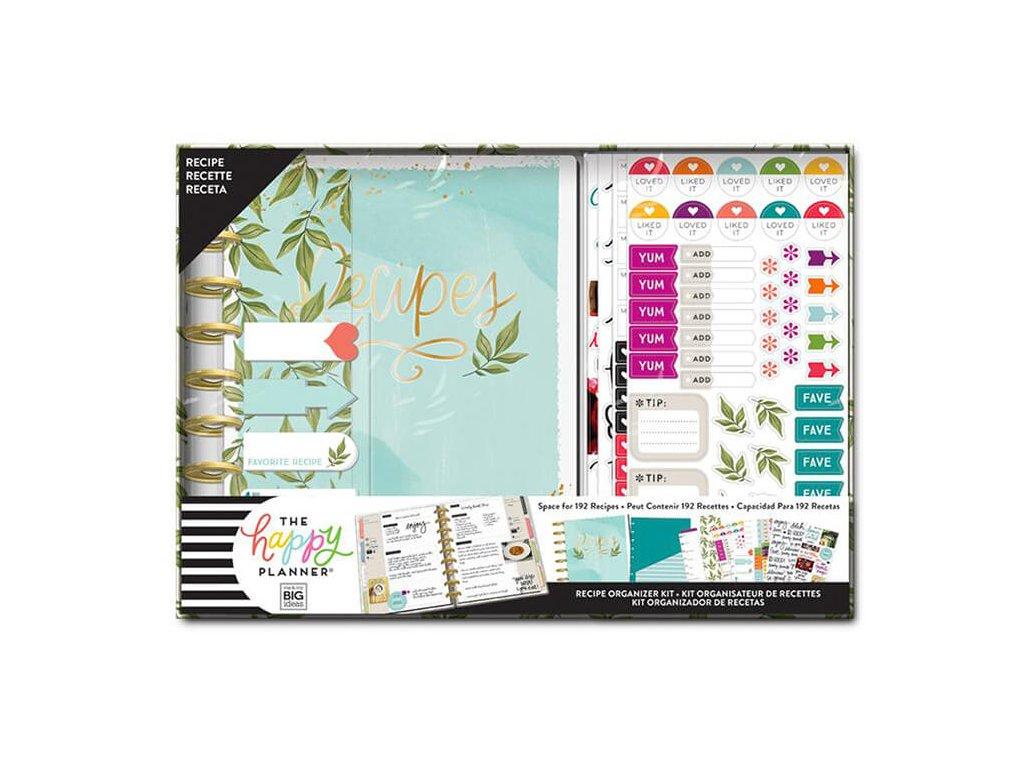 Zápisník na recepty s doplňky Happy Planner Foodie