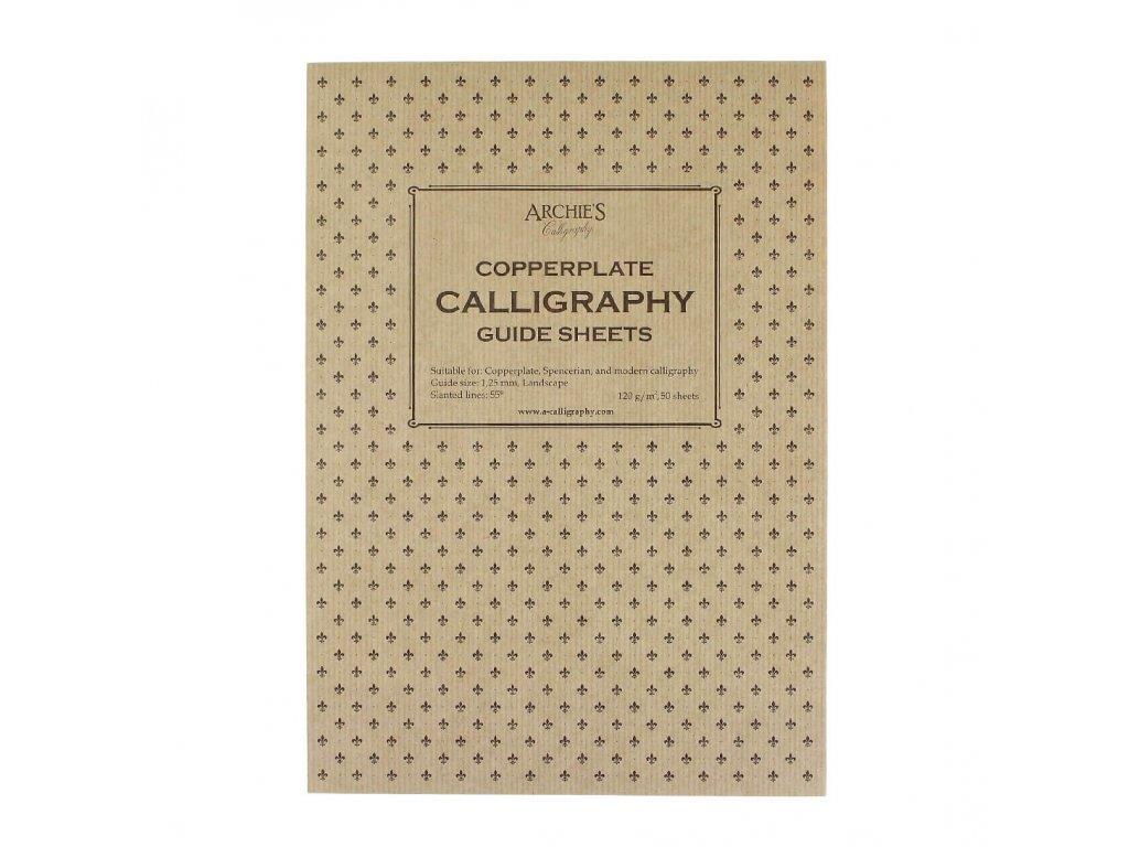 Kaligrafický blok Copperplate 1,25