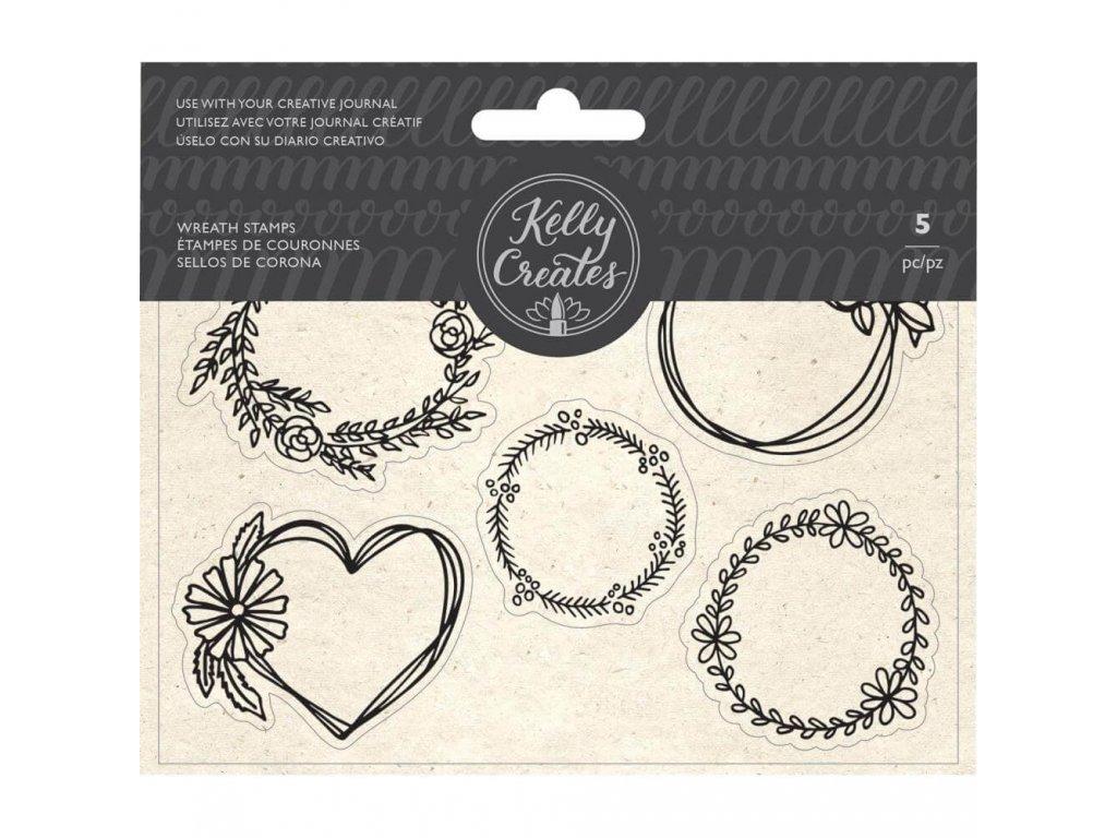 Silikonová razítka Kelly Creates - Wreaths