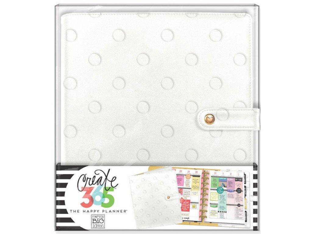 Obal na diář Happy Planner CLASSIC -  Snow Dots