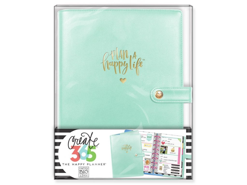 Obal na diář Happy Planner MINI - Mint