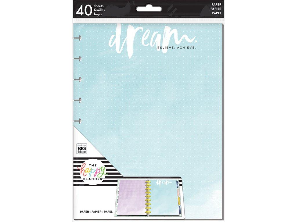 Poznámkové listy Happy Planner CLASSIC - Dream Dot