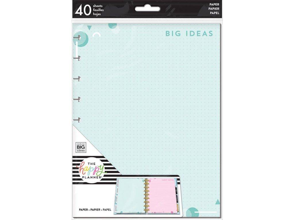 Poznámkové listy Happy Planner CLASSIC - Big Ideas 2