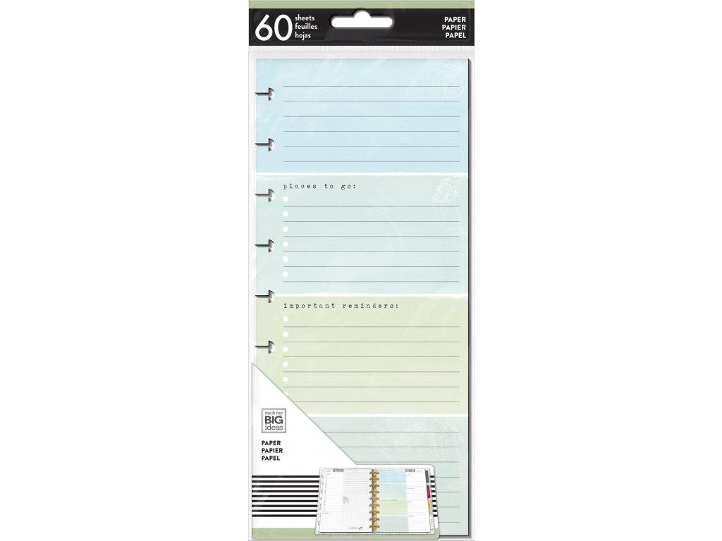 Poznámkové listy Happy Planner SKINNY CLASSIC - To Do List