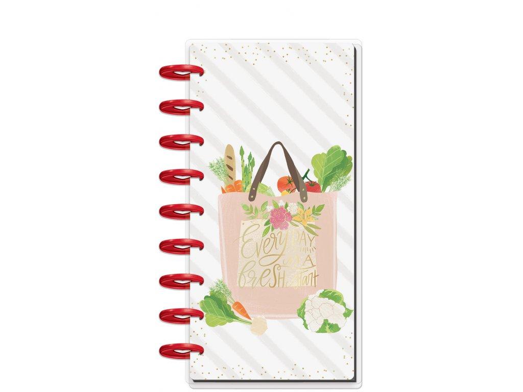 Zápisník Happy Notes SKINNY CLASSIC - Foodie