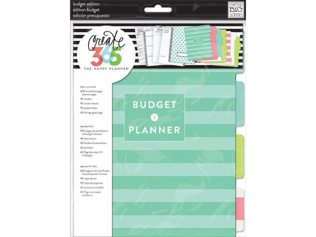 Rozšíření do diáře Happy Planner CLASSIC - Budget