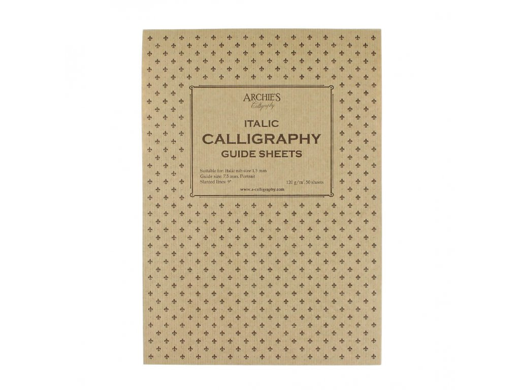 Kaligrafický blok Italic 1,5 mm