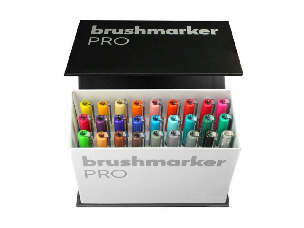 sada štětcových fixů karin brushmarker box