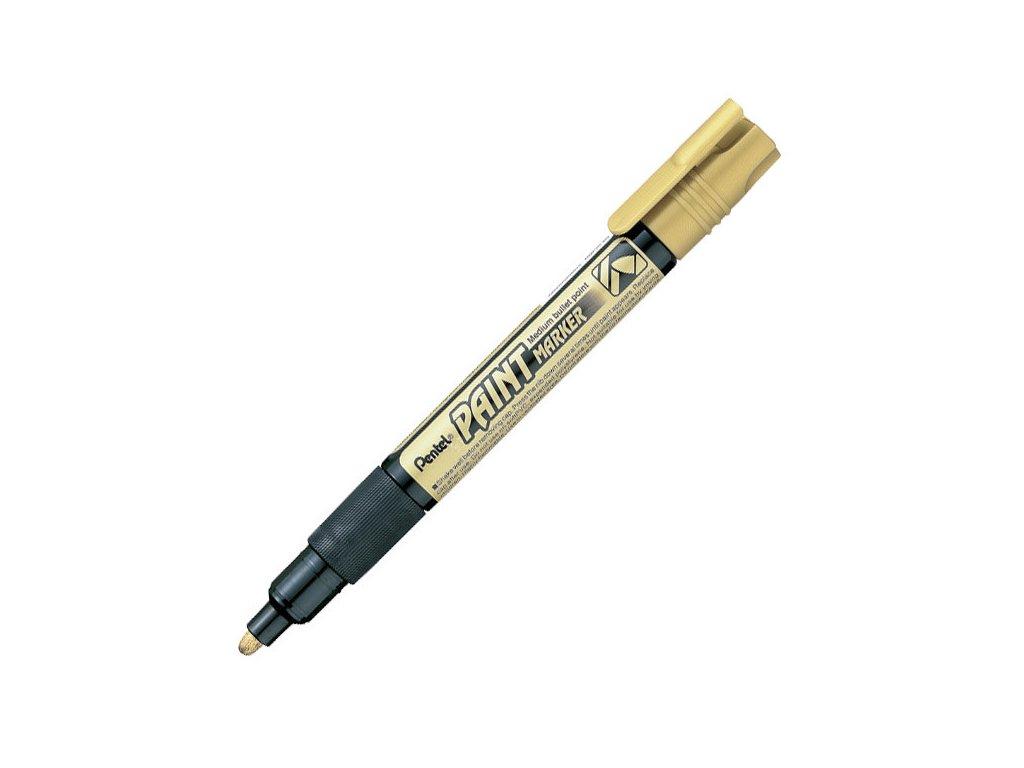 popisovač pentel paint marker MMP20 zlatý
