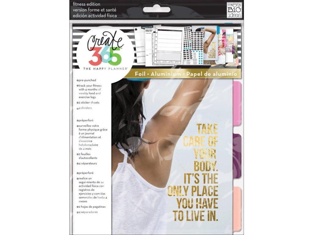 Rozšíření do diáře Happy Planner CLASSIC - Fitness