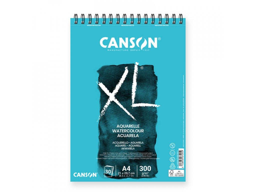 Skicák Canson XL Aquarelle A4