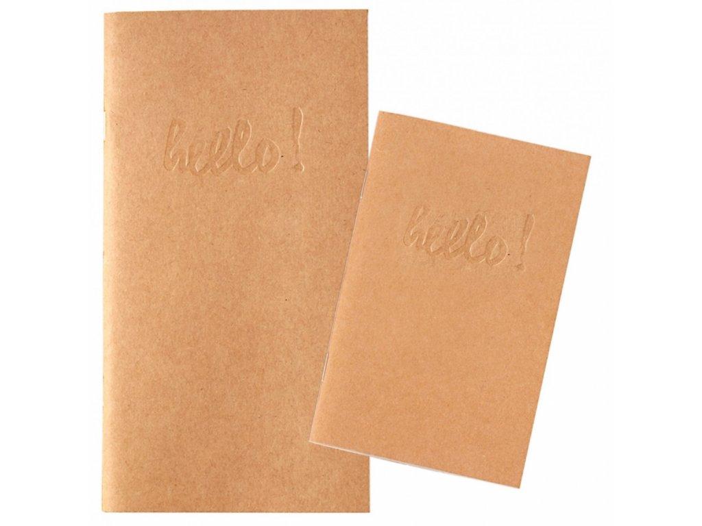 Zápisník do cestovního deníku Webster's pages pocket - Kraft