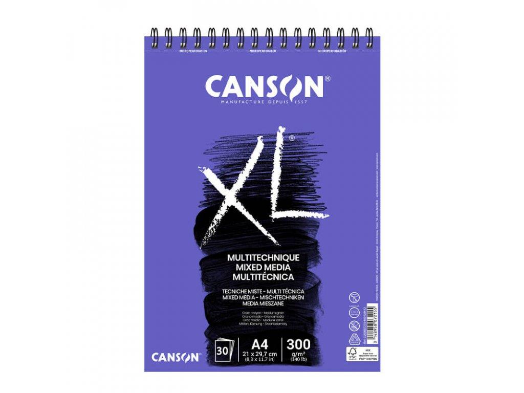 Skicák Canson Mix Media A4