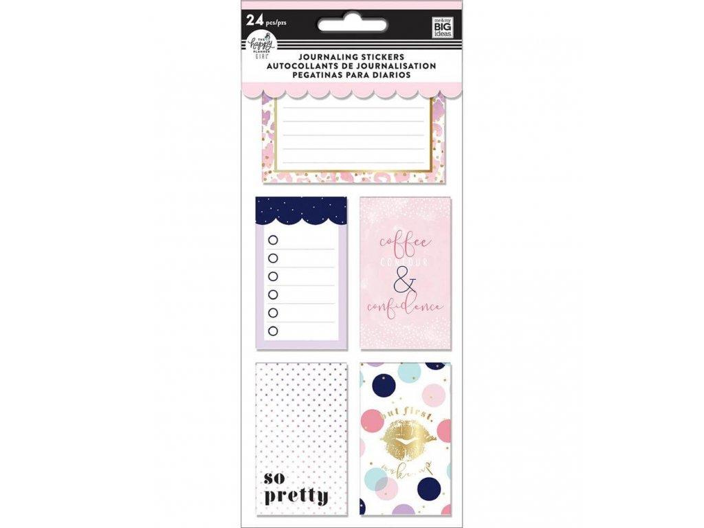 Samolepky Happy Planner Journaling - Glam Girl