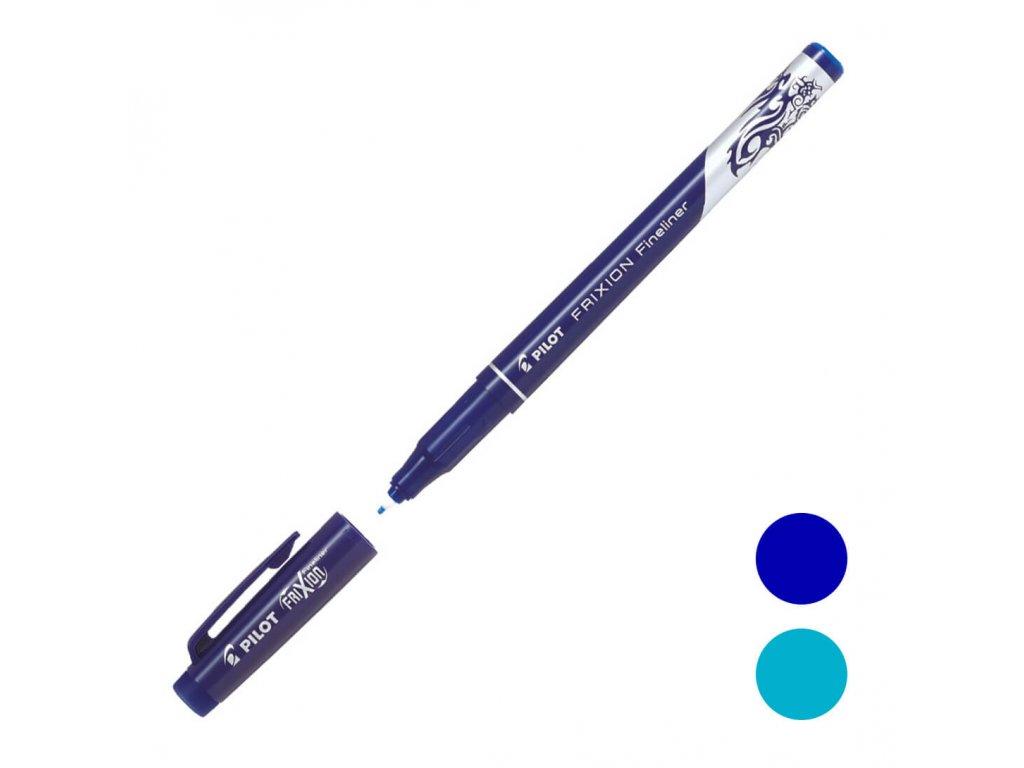 liner pilot frixion gumovací modrá