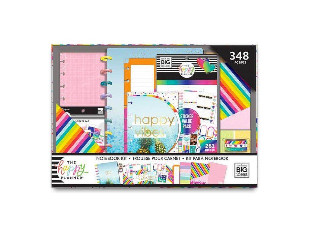 Zápisník a doplňky Happy Notes Classic Happy Rainbow