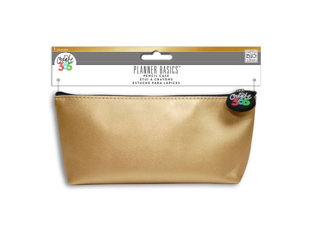Penál Happy Planner - Gold