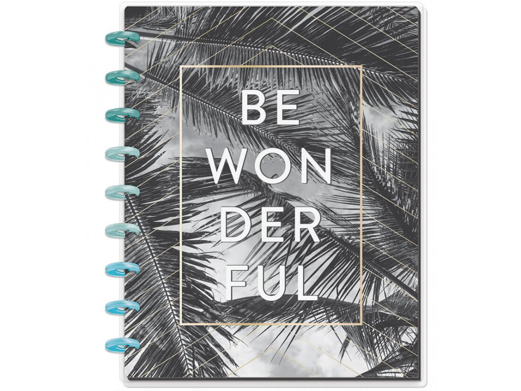 Zápisník Happy Notes CLASSIC - Be Wonderful