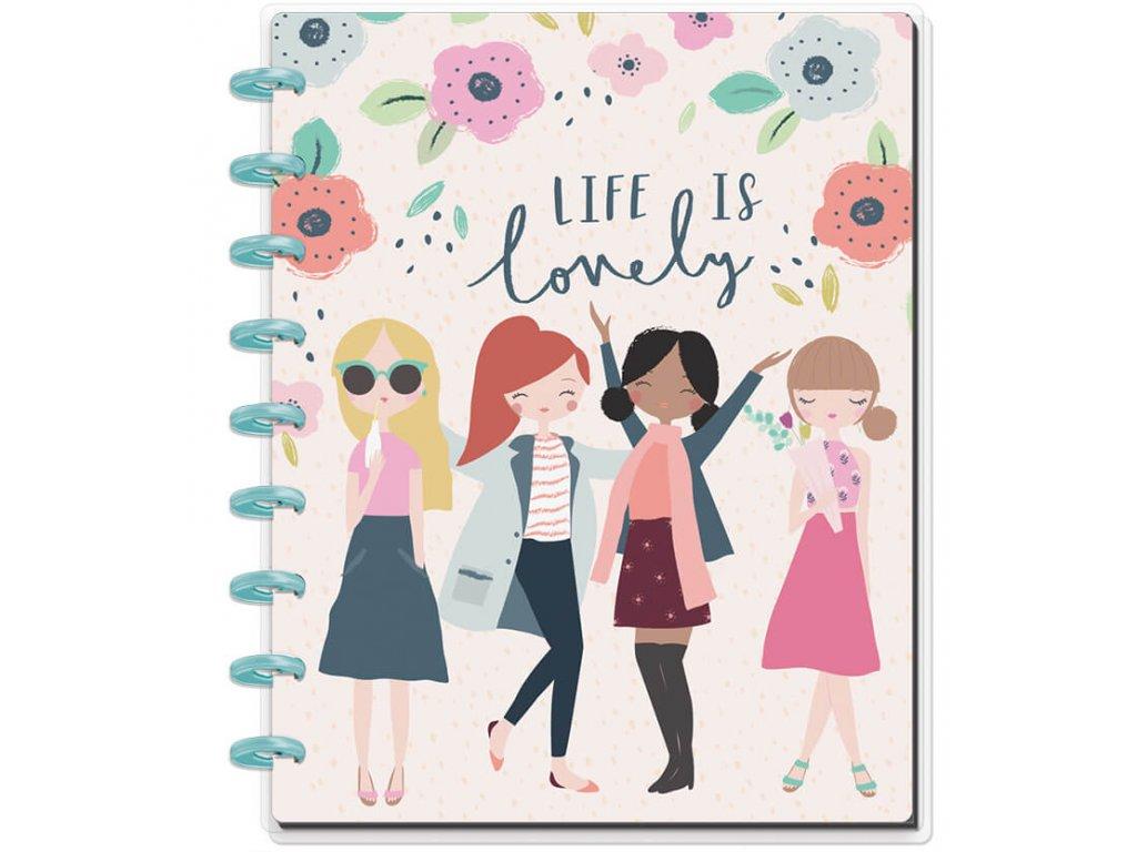 Zápisník Happy Notes CLASSIC - Squad Life