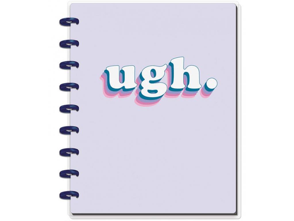 Zápisník Happy Notes CLASSIC - Ugh Student