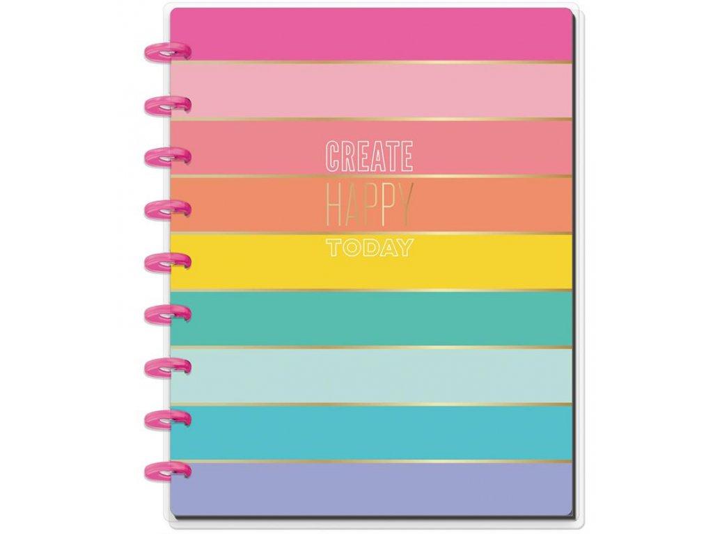 Zápisník Happy Notes CLASSIC - Create Happy Today
