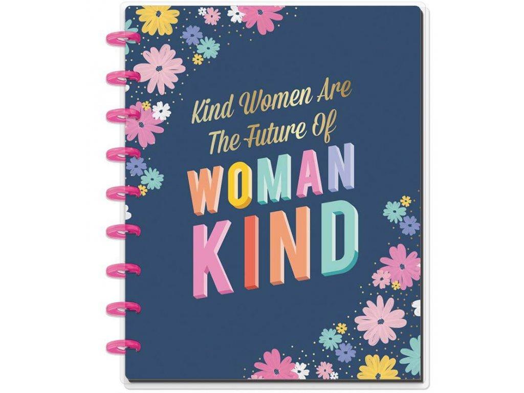 Zápisník Happy Notes CLASSIC - Kind Women
