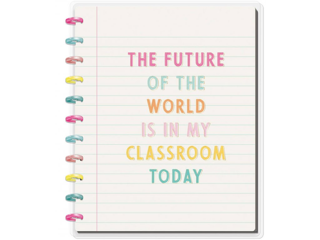 Zápisník Happy Notes BIG - Future Of The World