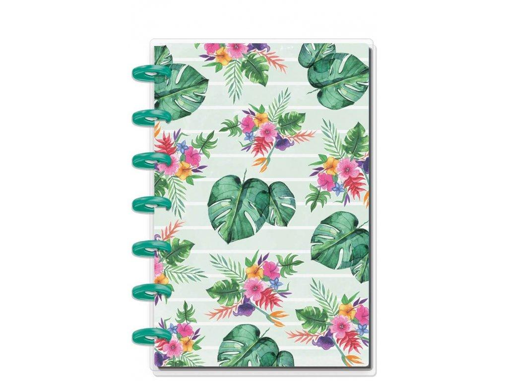 Zápisník Happy Notes MINI Rongrong - Tropical Vibes