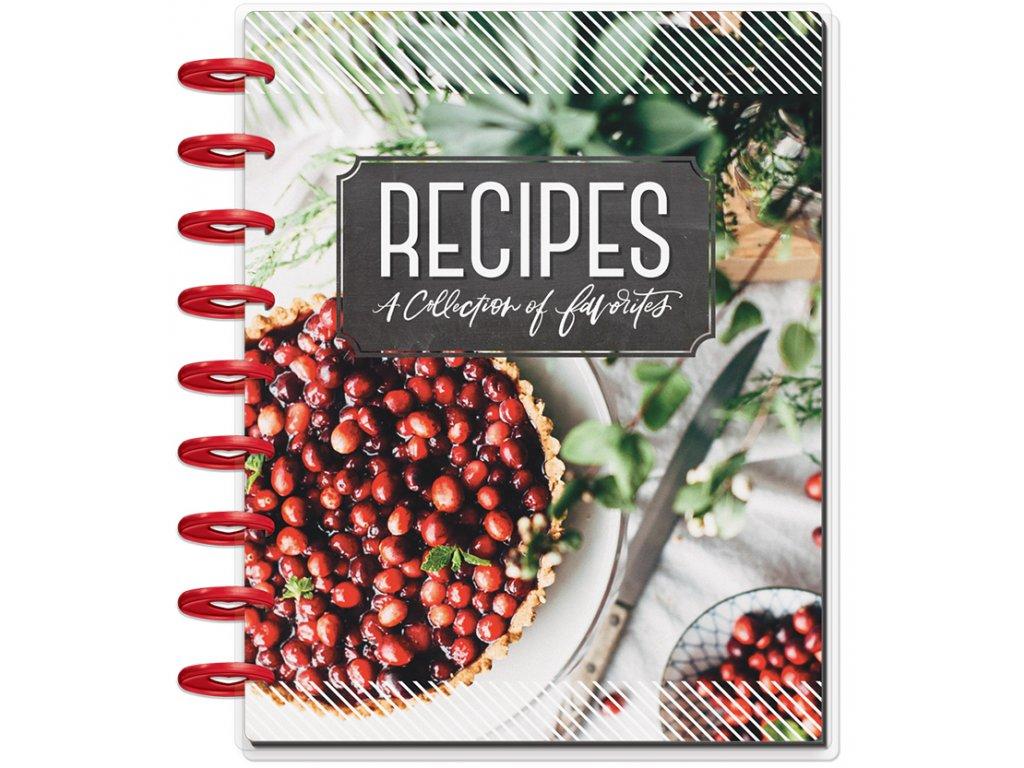 Zápisník na recepty Happy Planner CLASSIC
