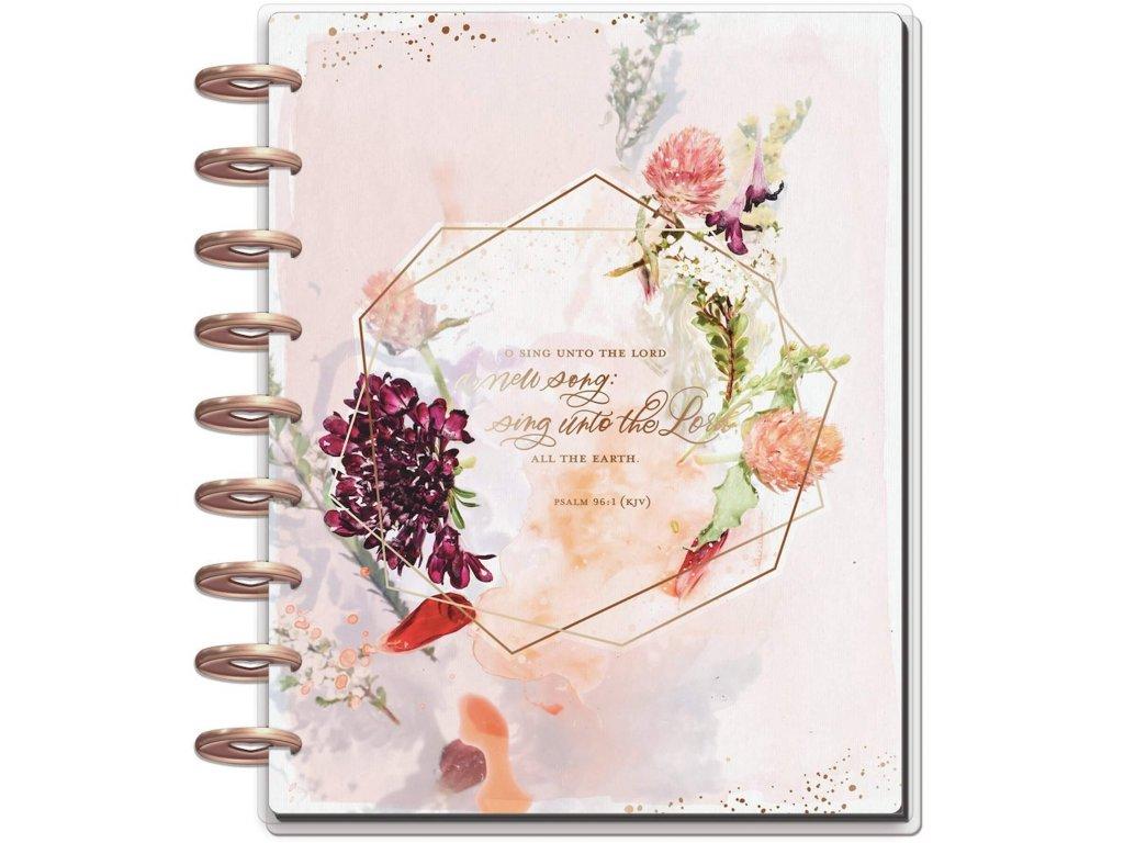 Nedatovaný diář Happy Planner CLASSIC - Faith