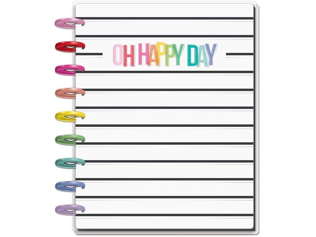Nedatovaný diář Happy Planner CLASSIC - OH Happy Everyday