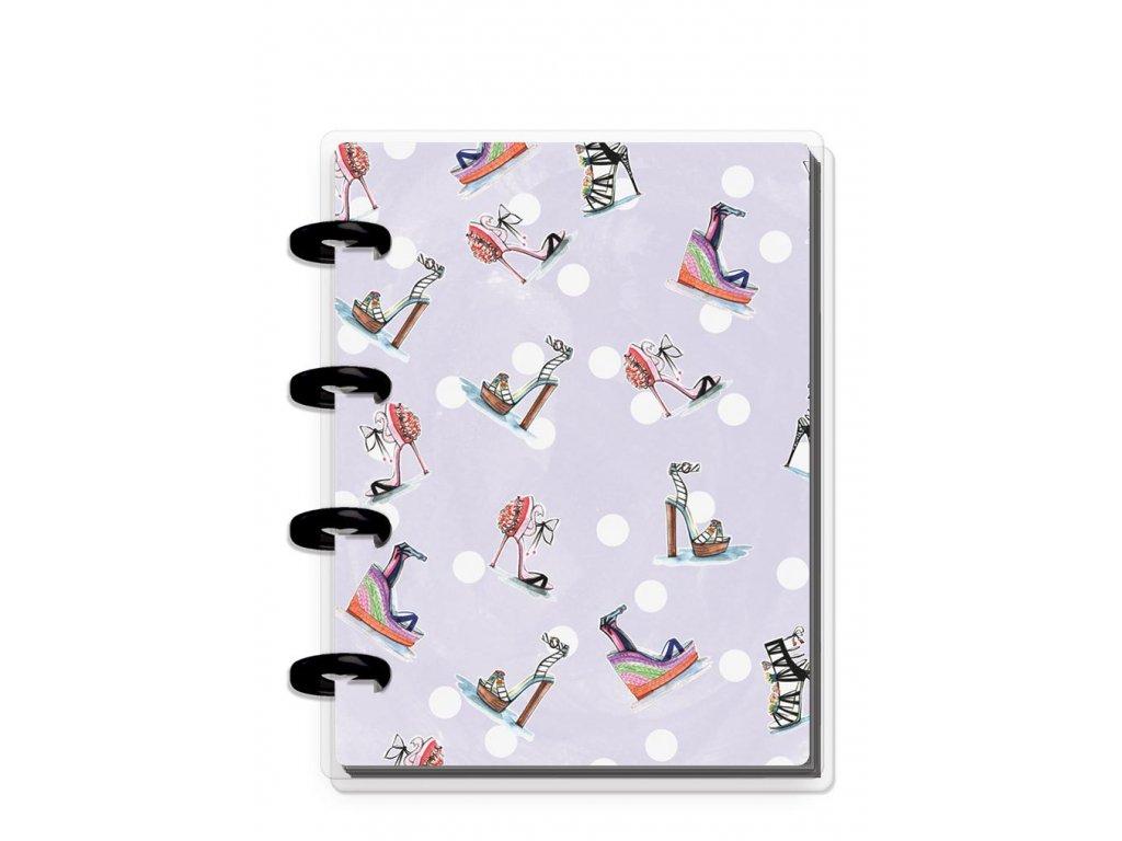 Zápisník Happy Notes MICRO Rongrong - Stilettos