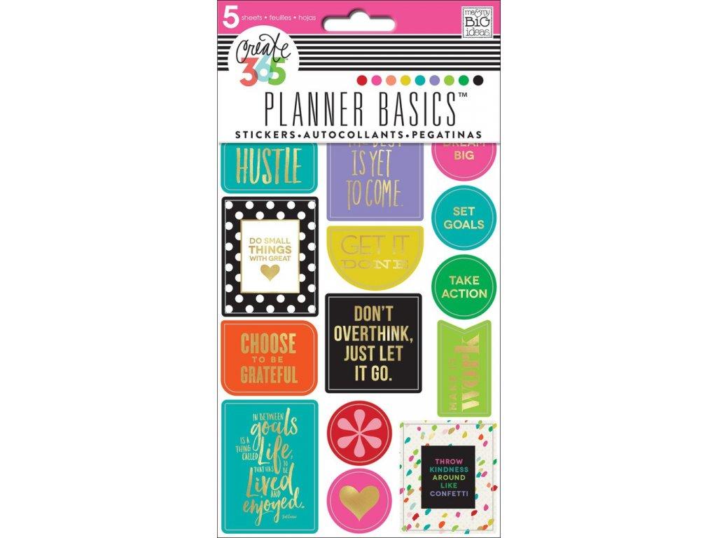 Samolepky Happy Planner - Bright 2