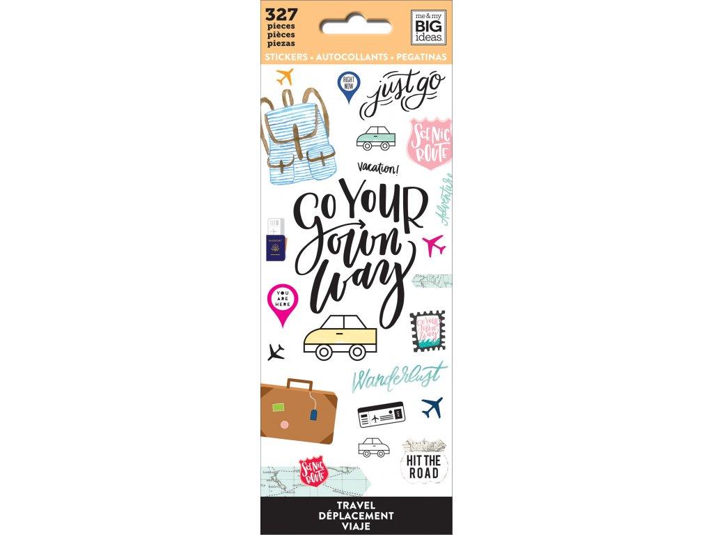 Samolepky Happy Planner Petite - Travel