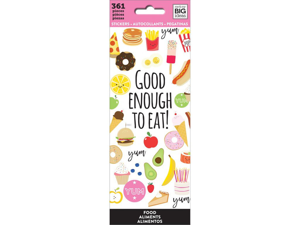 Samolepky Happy Planner Petite - Food