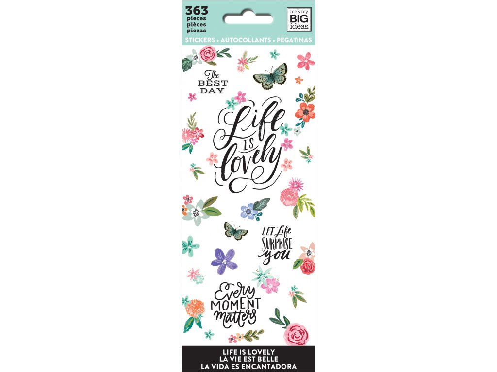 Samolepky Happy Planner Petite - Love is Lovely