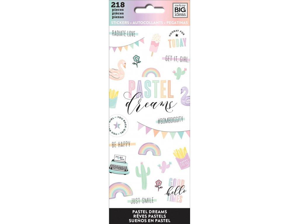 Samolepky Happy Planner Petite - Pastel Dreams