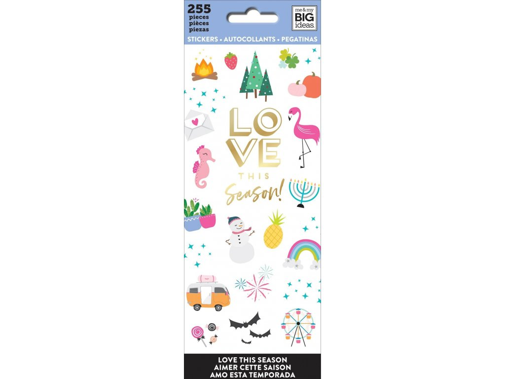 Samolepky Happy Planner Petite - Love This Season