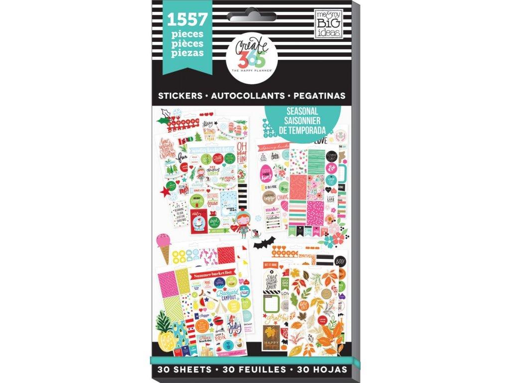 Samolepky Happy Planner Value Pack - Seasonal