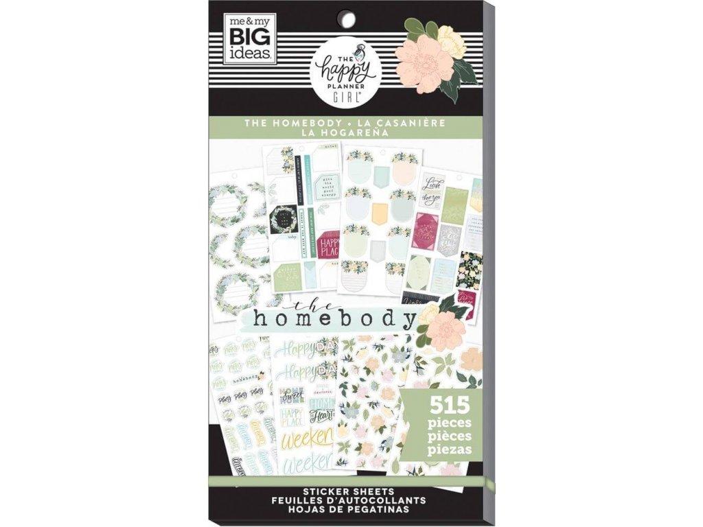 Samolepky Happy Planner Value Pack - Homebody