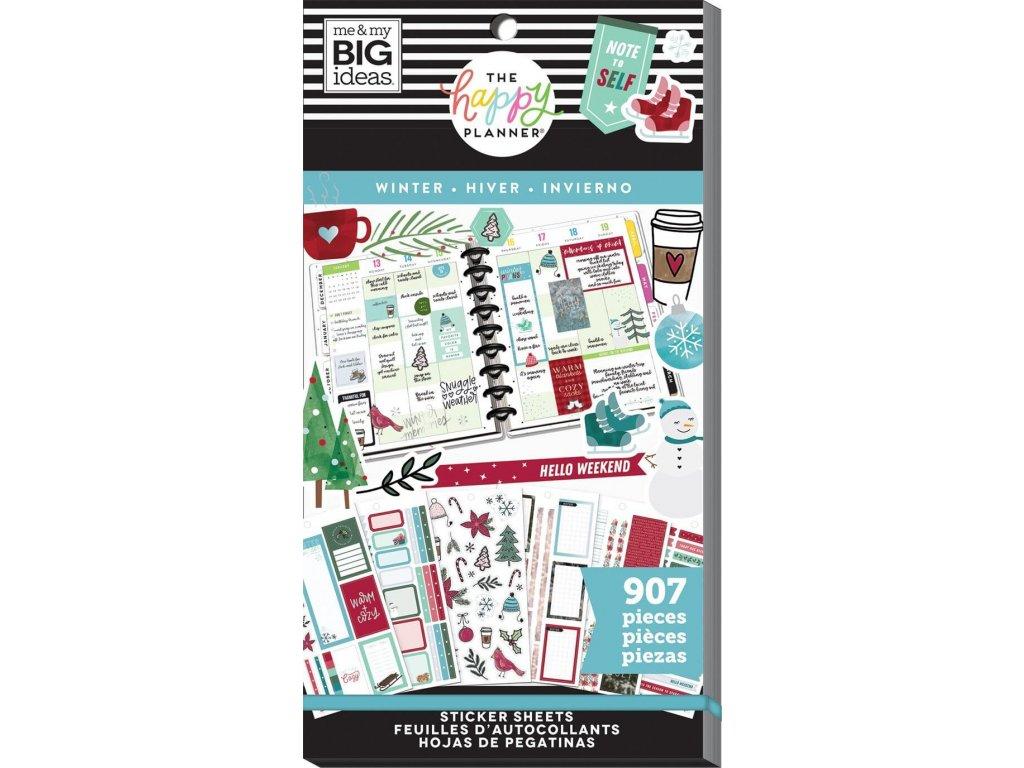 Samolepky Happy Planner Value Pack - Winter