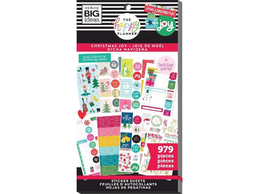 Samolepky Happy Planner Value Pack - Christmas Joy