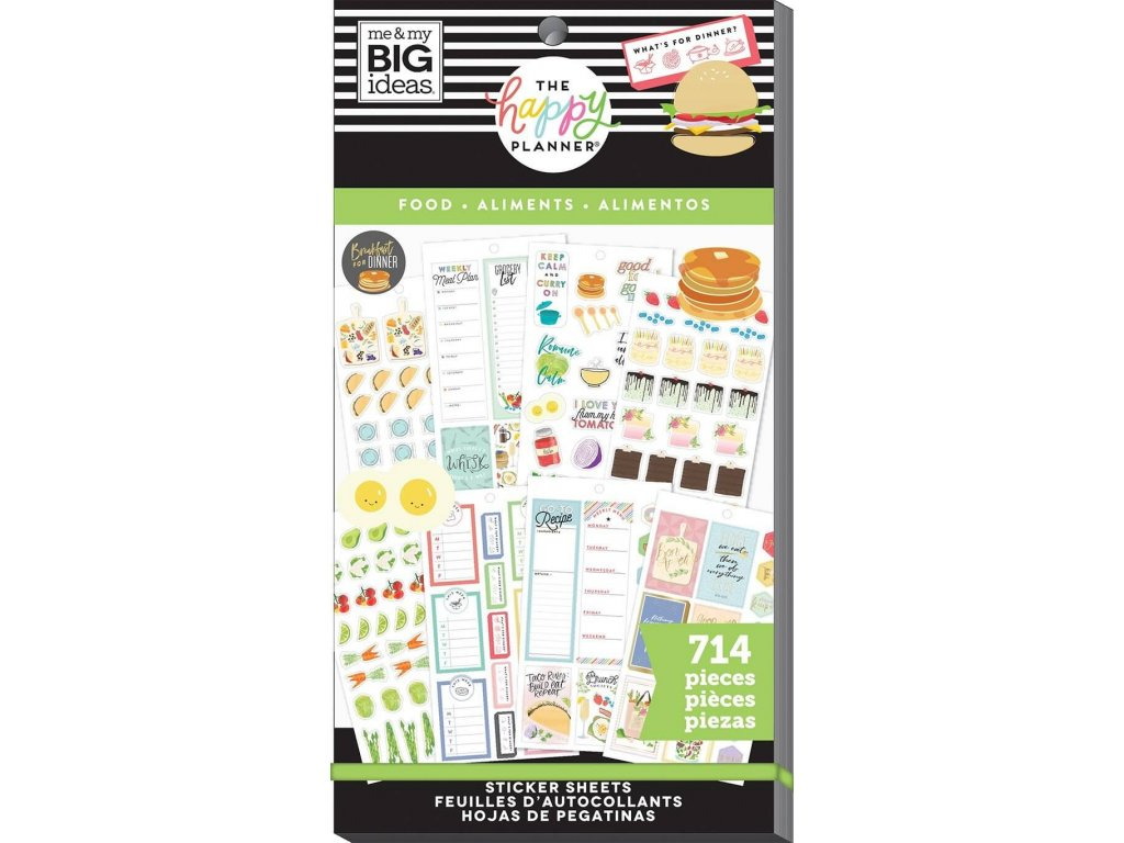 Samolepky Happy Planner Value Pack - Yum