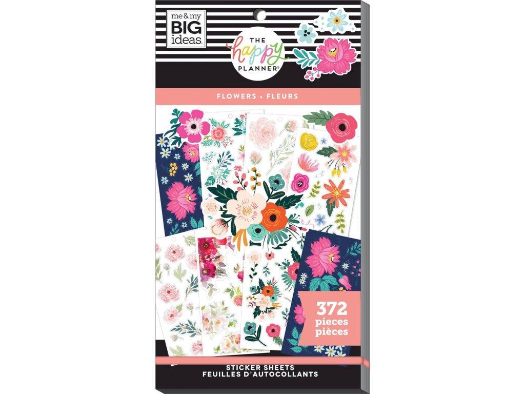Samolepky Happy Planner Value Pack - Flowers