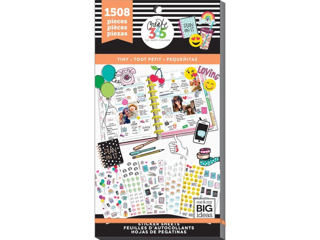 Samolepky Happy Planner Value Pack - Mini Icons