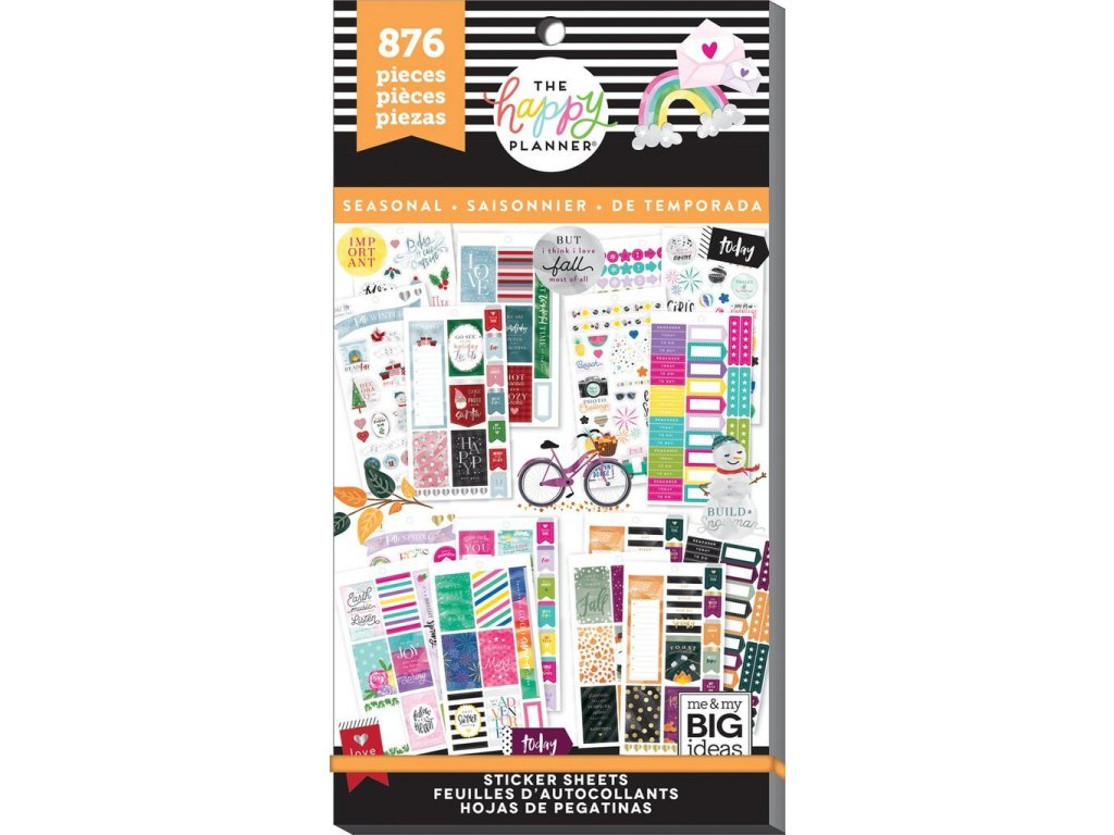 Samolepky Happy Planner Value Pack - All in a Season